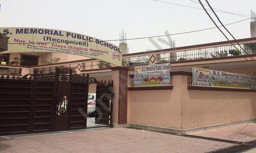 B S Memorial Public School
