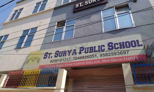 St. Surya Public School