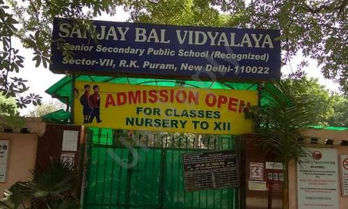 Sanjay Bal Vidyalay Senior Secondary Public School