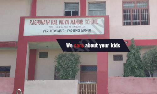 Raghunath Bal Vidya Mandir Senior Secondary School