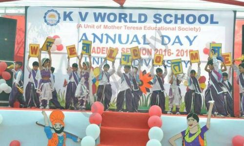 K V World School